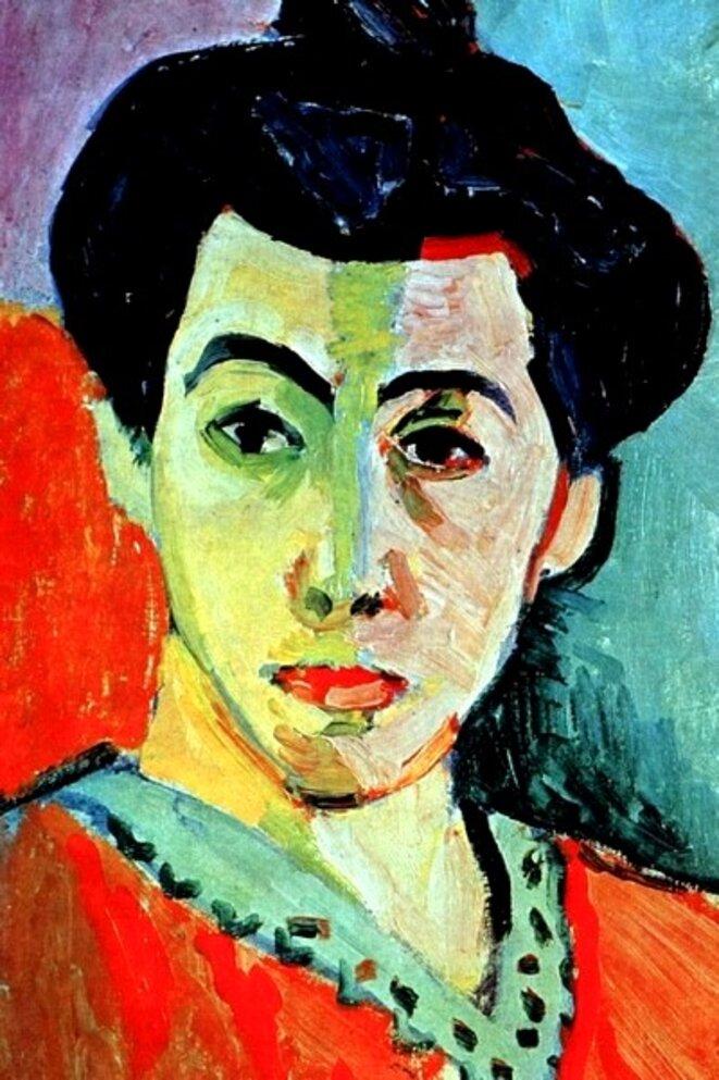 Matisse, La Raie verte (1905)