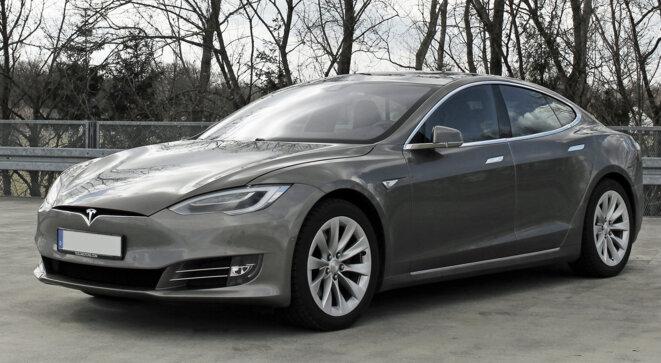 La Tesla, summum de la voiture électrique © Alban De Ferris