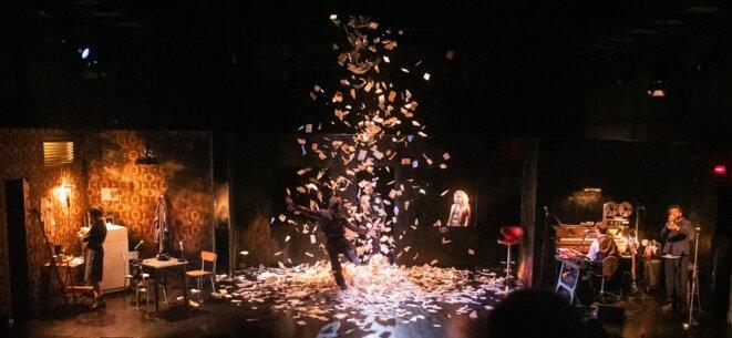 "Scène ""Fahrenheit 451"" © Rodolphe Haustraëte"