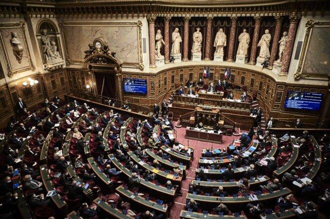 Le Sénat. © Antonin Burat / Hans Lucas via AFP