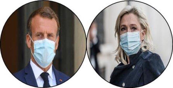 Macron/Le Pen, les deux faces d'une même pièce.