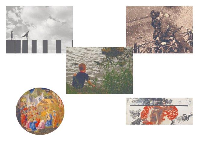 Cartes postales © Soutien à Cesare Battisti