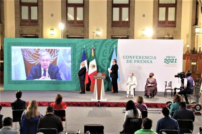 Mexico - Forum Génération Égalité (2021) - 29 – 31 mars - António Guterres, Secrétaire général des Nations Unies