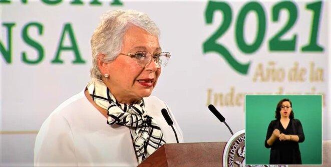 Mexico - Forum Génération Égalité (2021) - 29 – 31 mars -Mme Olga Sanchez Cordero, Secrétaire à l'Intérieur du Mexique