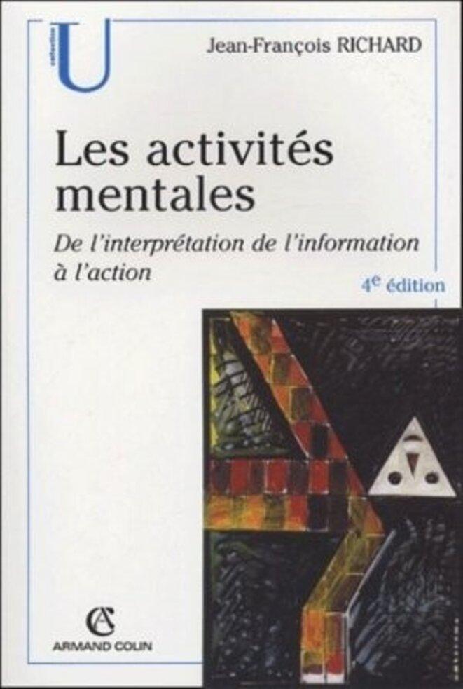 CouvertureLivre_ActivitesMentales © Ouvrage Activités mentales de Jean François Richard