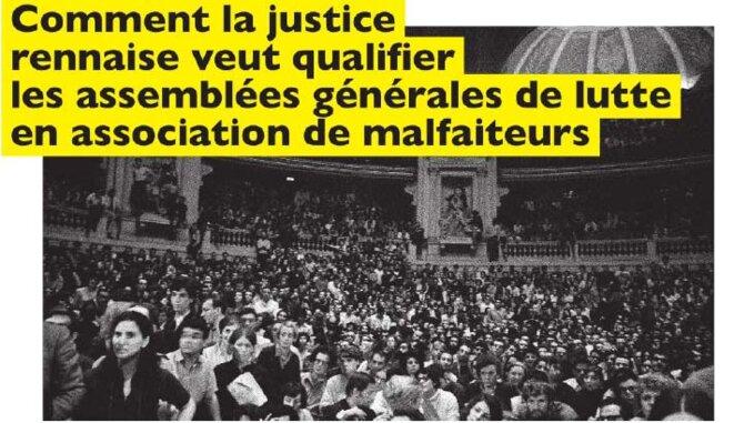 Réunion conspirative dans le Grand Amphithéâtre de la Sorbonne - 28 mai 1968 © DC