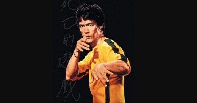 """Bruce Lee dans """"Le Jeu de la Mort""""."""