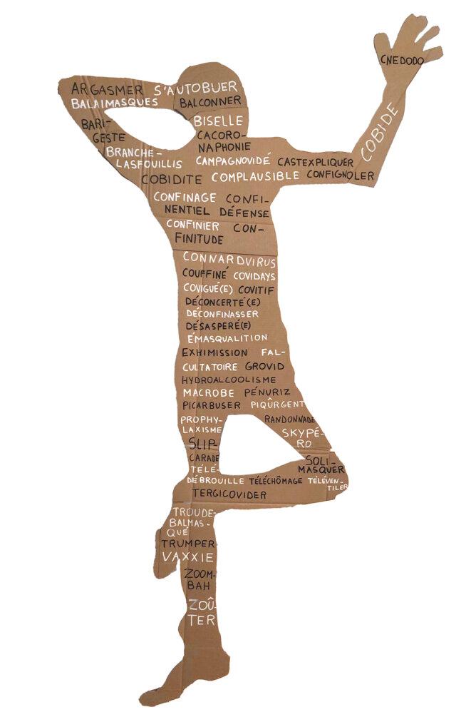 """Dicomane présente le """"Dicovid"""" des mots inventés par Le Petit Robert pour dire la crise sanitaire. © Big Sister Data"""
