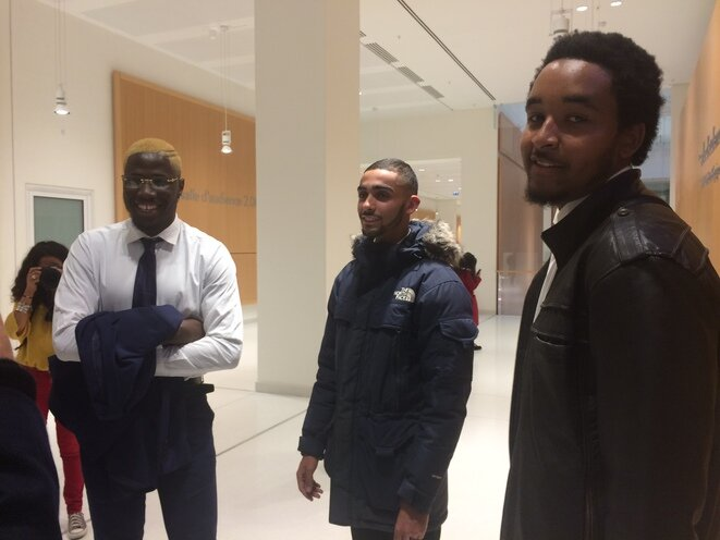 Le 22 octobre 2018 au TGI de Paris. © LF/ Mediapart