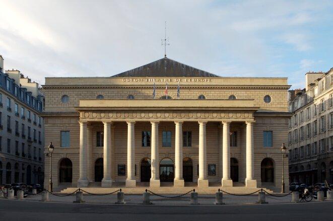 Façade de l'Odéon-Théâtre de l'Europe © Thierry Depagne