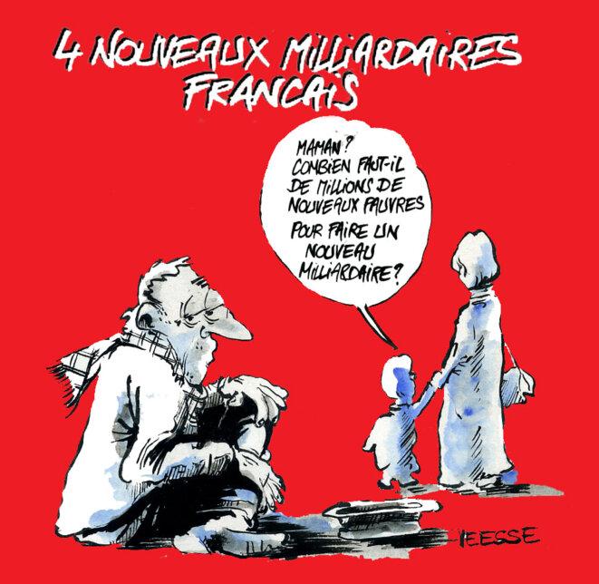 Quatre nouveaux milliardaires français © Veesse Voilà