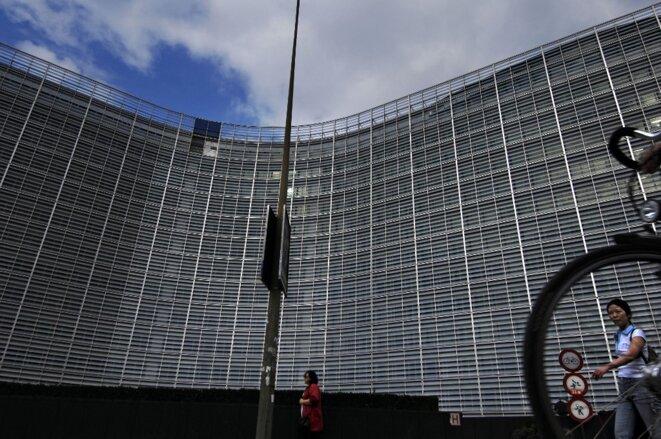 Le Berlaymont, siège de la Commission européenne à Bruxelles. © Alain Schroeder / hemis via AFP