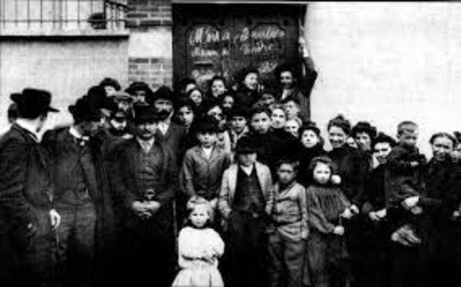 Grève à Limoges en 1905