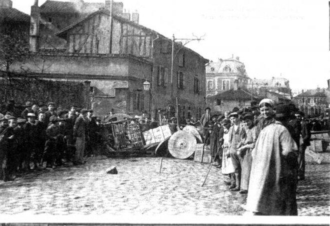 Grève Limoges 1905 Barricades