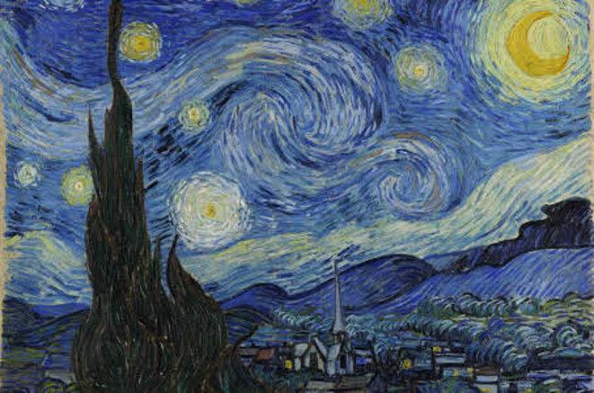 La Nuit étoilée, Vincent Van Goh.