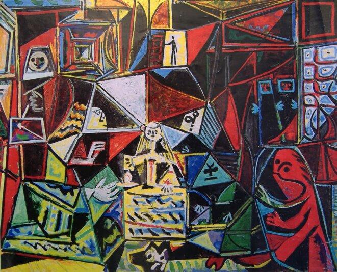 "© ""Las Meninas"" de Vélasquez revu par Picasso"