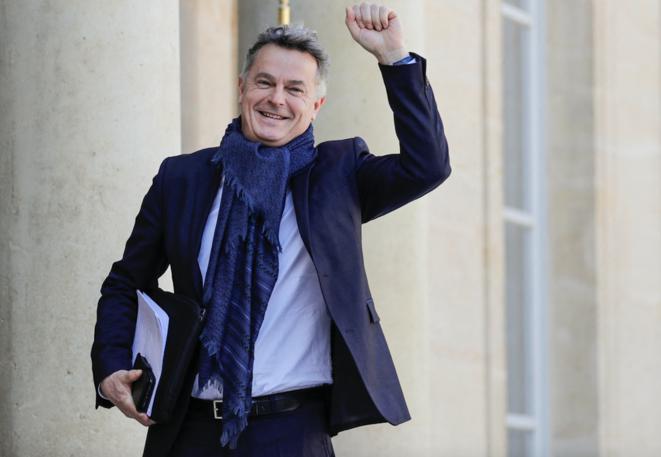 Fabien Roussel, secrétaire national du Parti communiste français, en 2019. © Thomas SAMSON / AFP