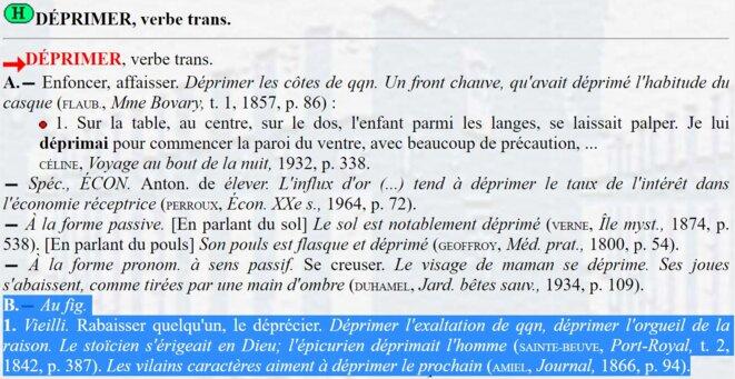 Source : Trésor de la Langue Française