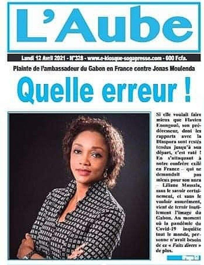 Liliane Bulabula Wamusanza, épouse Massala, Ambassadeur Haut Représentant de la République gabonaise en France.