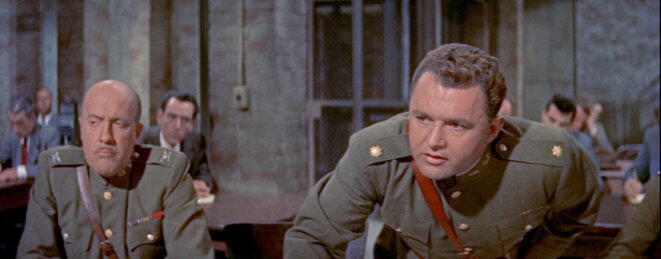 """""""Condamné au silence"""" (The Court-Martial of Billy Mitchell) d'Otto Preminger © LCJ"""
