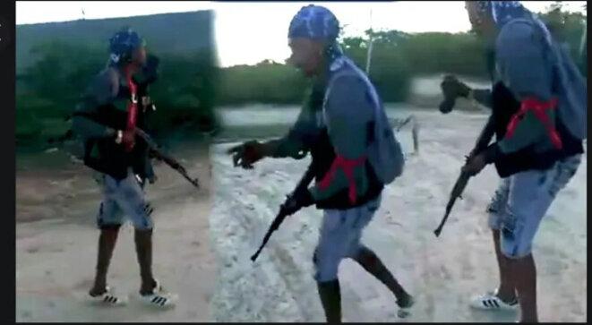 GangStructuréHaïti © Photo Partagée sur les réseaux sociaux