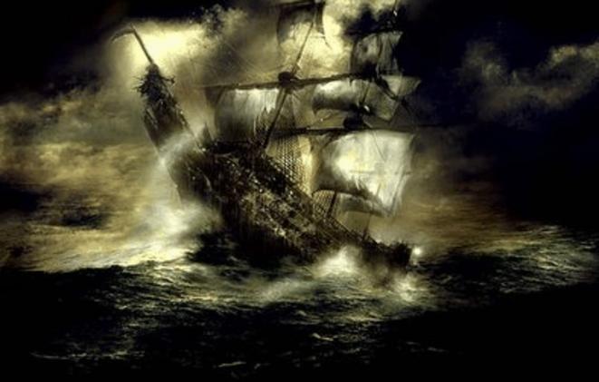 le-bateau-frantome-de-gaspé-quebec
