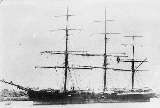 le-torrens-dernier-voilier-sur-lequel-voyage-le-capitaine-konrad-korzeniovki alias Joseph Conrad
