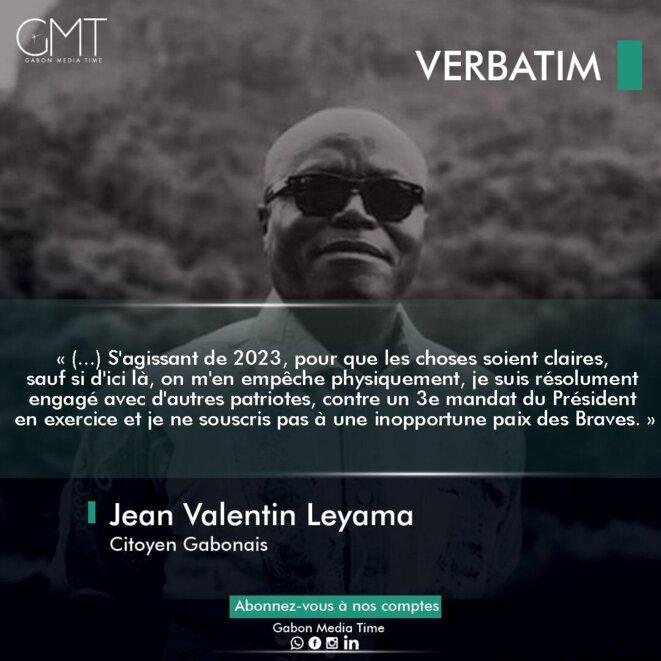 Jean Valentin LEYAMA/propriété GMT