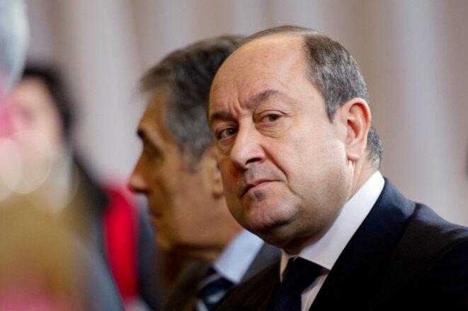 Bernard Squarcini, en 2012. © MARTIN BUREAU / AFP