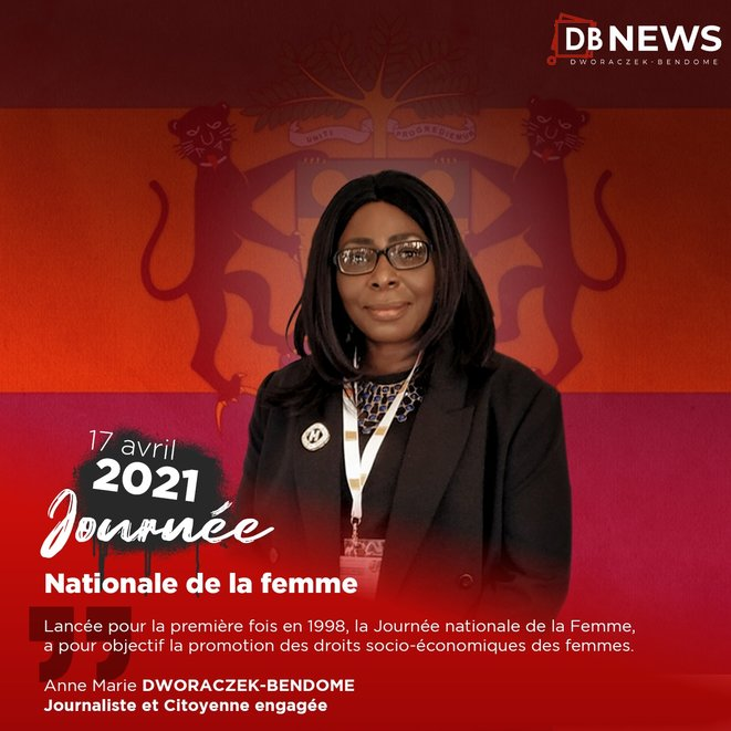 Anne Marie DWORACZEK-BENDOME « Journée nationale de la Femme Gabonaise »