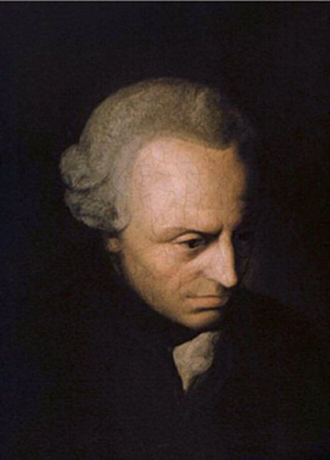 Portrait de Kant (vers 1790), Elisabeth von Stägemann.