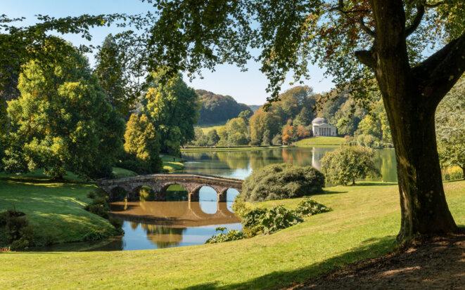 Stourhead Landscape Garden, Wiltshire.