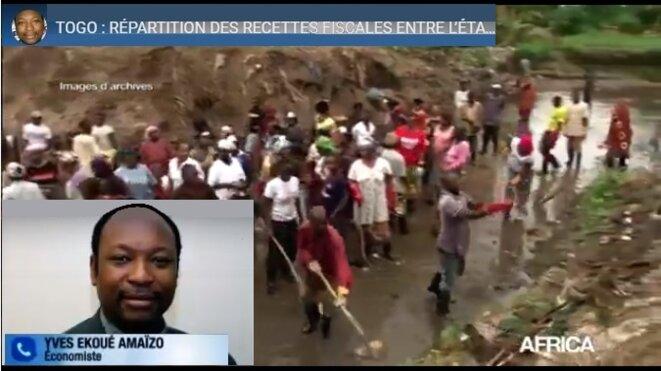 Africa 24, reportage, Togo : répartition des recettes fiscales entre Etat et collectivités locales