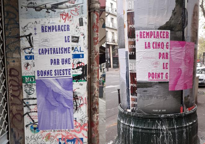 Le Grand Soulagement. Vu à Paris