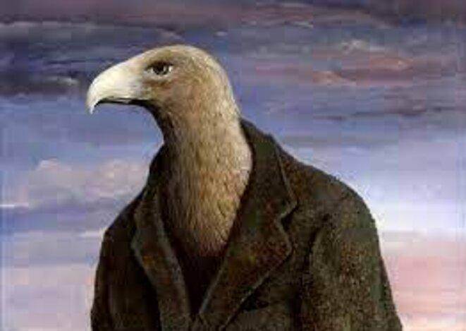 René Magritte, l'Aigle.