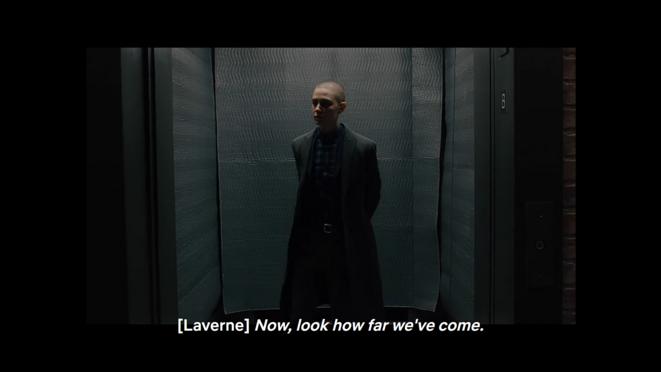 extrait de Disclosure, référence au film  John Wick: Chapitre 3 - Parabellum, et au personnage de L'Arbitre