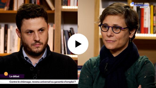 Alexandre Ouizille et Sophie Taillé-Polian © Mediapart