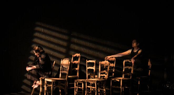 """Scène de """"Trézènz mélodies © Simon Gosselin"""