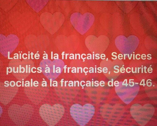 FRANCE à gauche © CD