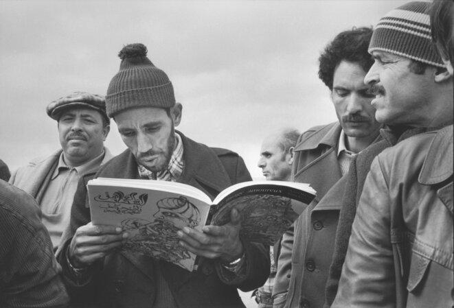 Grèves dans l'automobile au début des années 1980. © André Lejarre