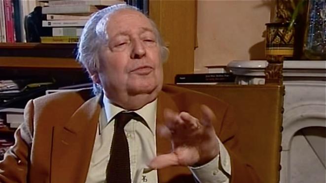 Marc Ferro  (interview 2004 à son domicile) © Patrice Morel