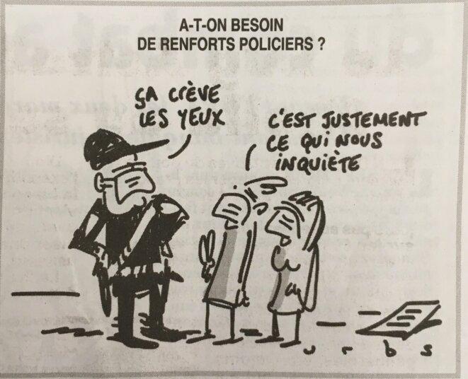 © Urbs / Le Canard Enchaîné