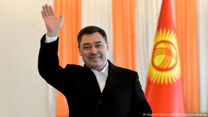 Le Président Sadyr Japarov © Vladimir Voronin - AP photo/Picture Alliance