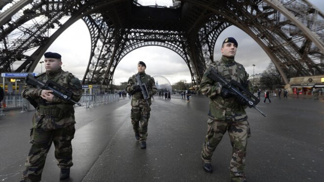 L'anti-terrorisme © Alban De Ferris