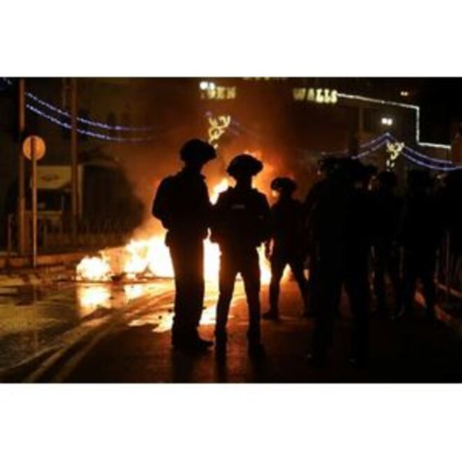 Pogrom nocturne à Jérusalem, avril 2021