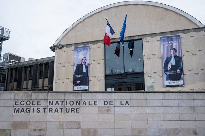 School for judges: the École nationale de la magistrature (ENM) at Bordeaux. © Valentino BELLONI / Hans Lucas via AFP