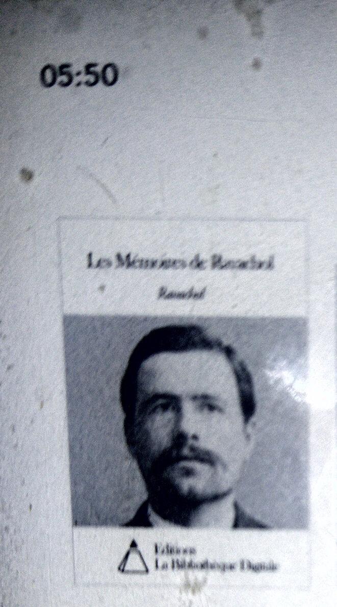 Les mémoires de Ravachol sur Kobo
