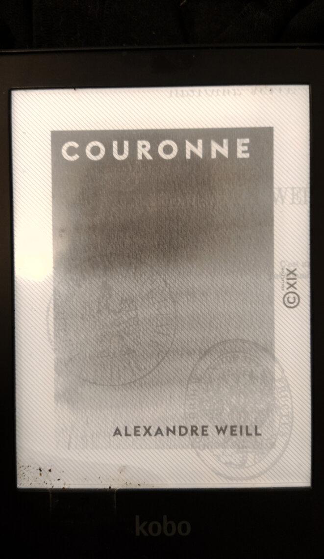 Alexandre Weill sur Kobo; Livre Couronne