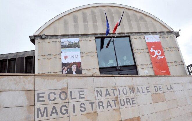 L'École nationale de la magistrature à Bordeaux. © PIERRE ANDRIEU / AFP