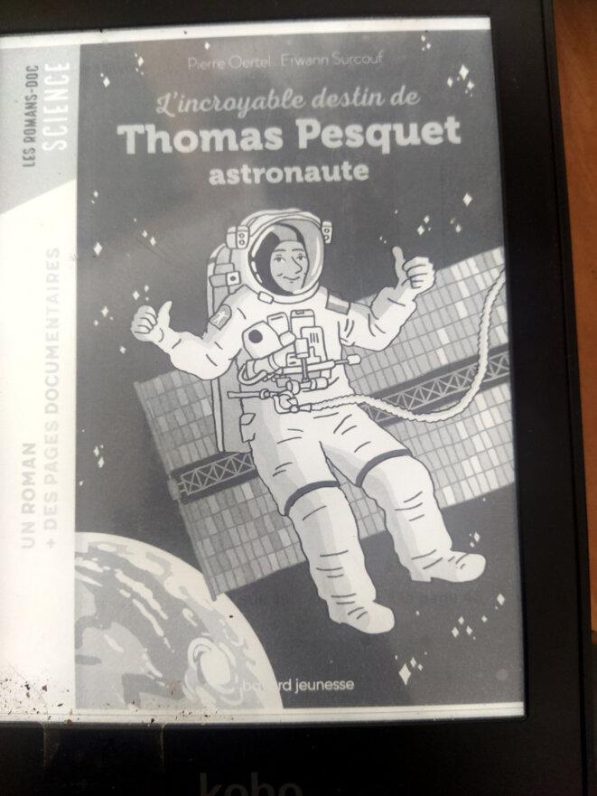 L'incroyable destin de Thomas Pesquet © Bayard Jeunesse